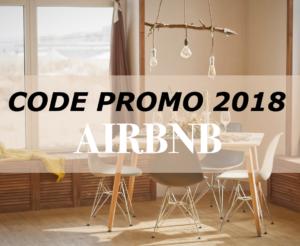 Code Promo 2018 AIRBNB