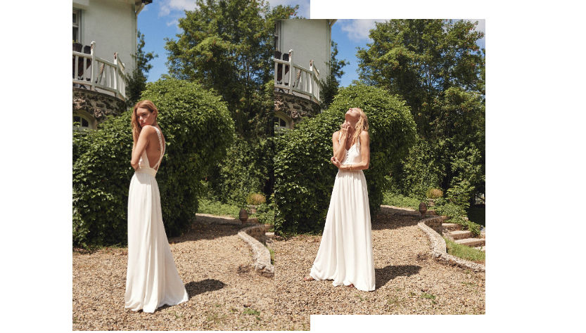 Sézane : Robe de Mariage pour petit budget, simple & élégante