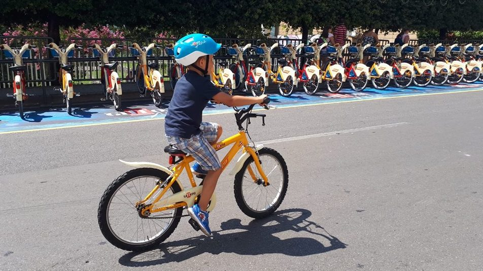 location de vélo gratuit à Milan BikeMi