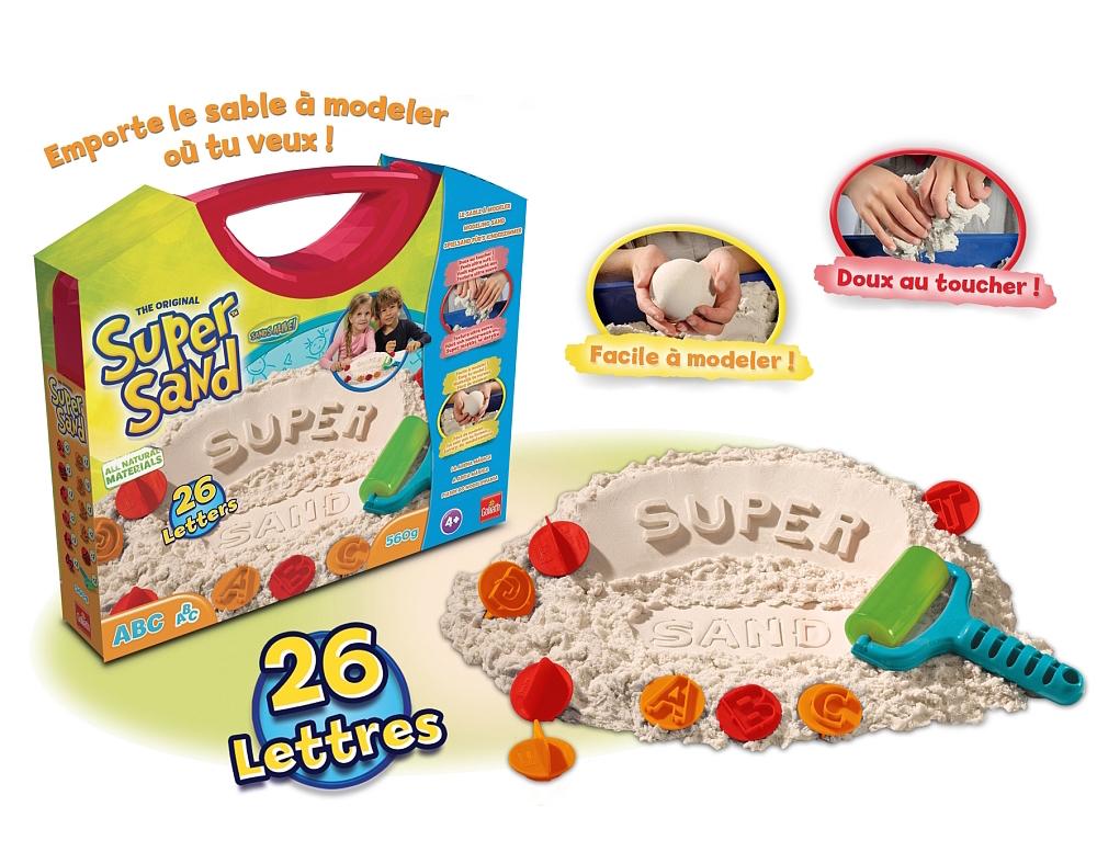 Idée Cadeau Noel 2018 Enfant 3 ans Goliath Super Sand